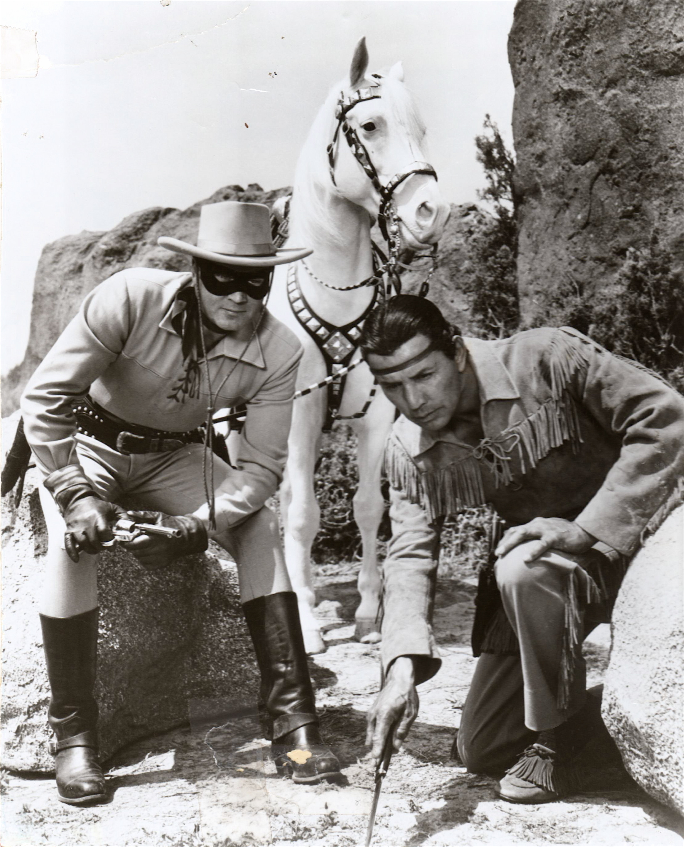UNK -- lone ranger and tonto